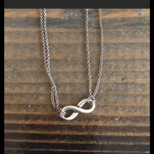 🌿2/$100 Tiffany& Co. silver infinity necklace